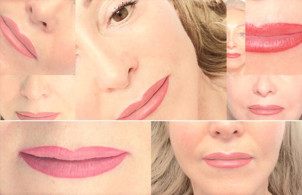 Lippen-Collage