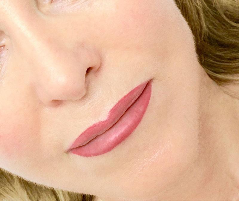 Eine Woche nach der Lippen-Pigmentierung - Le Visage Berlin